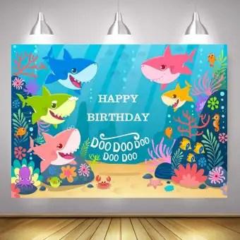 Babyshark X Large Size 120cm X 90cm Backdrop For Birthday Party Decoration Celebration Buy Online At Best Prices In Pakistan Daraz Pk
