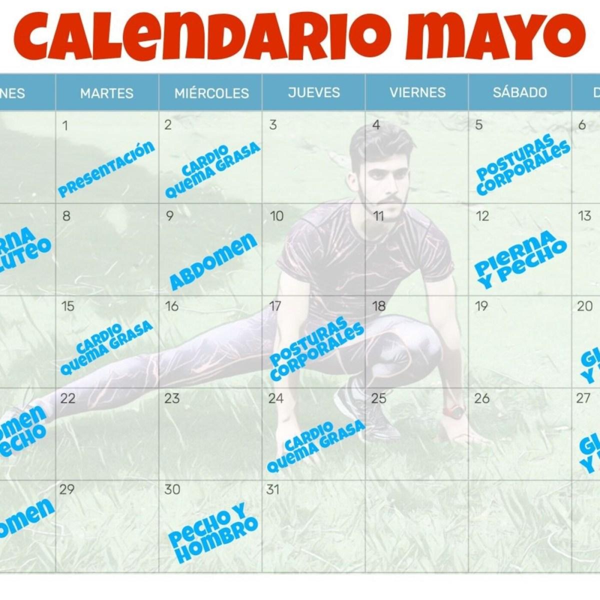 El calendario deportivo de mayo 2021