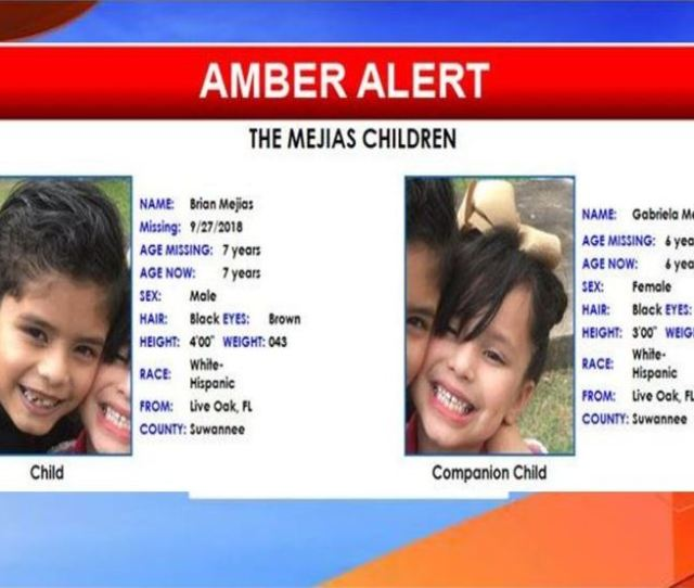 Amber Alert Cancelled For Two Florida Children