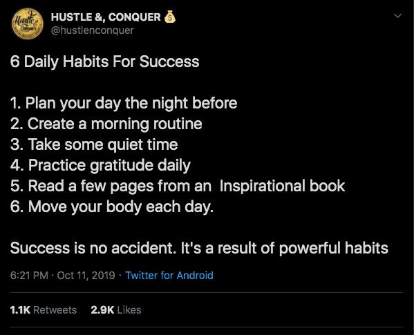 Hustle & Conquer - Insider Hacks To Twitter Money