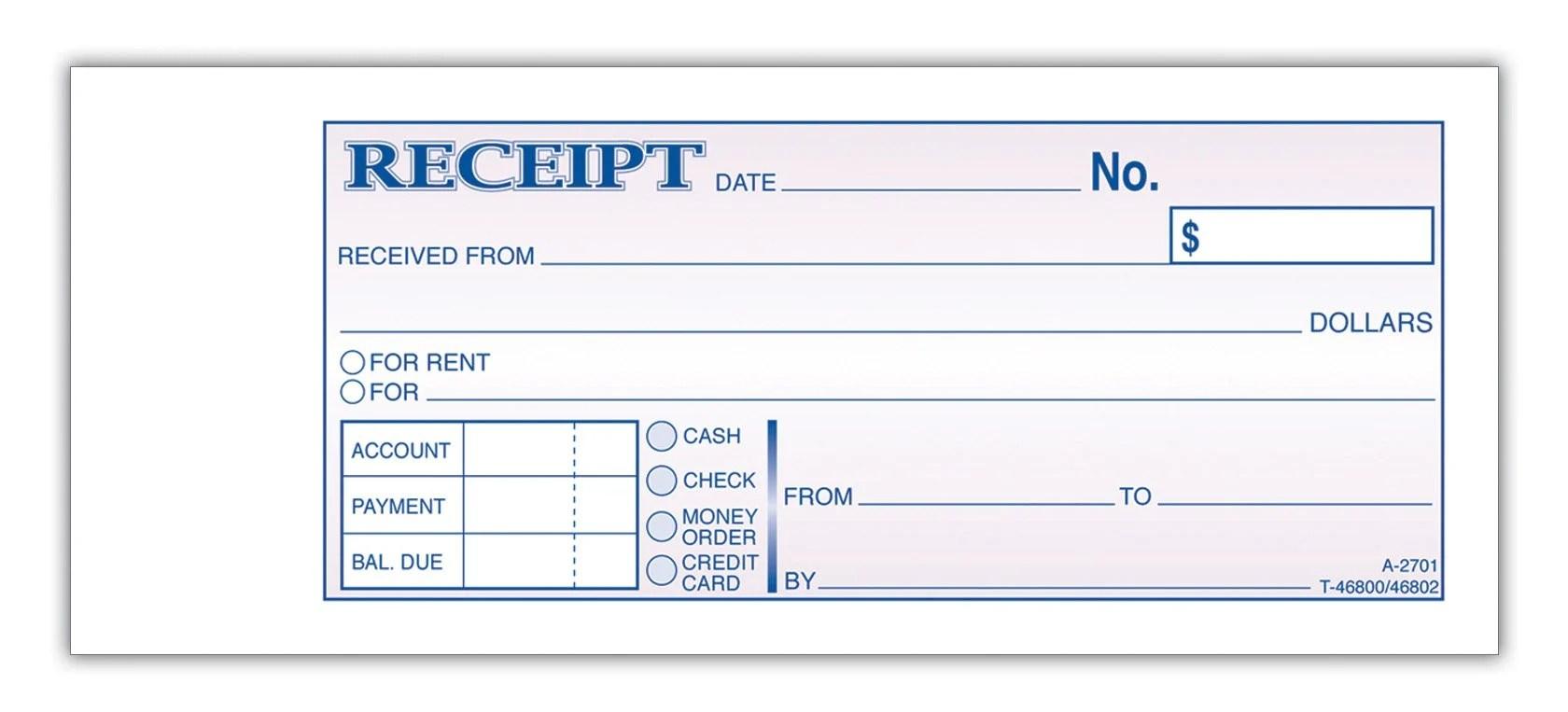 receipt for rent – Receipt for Rent
