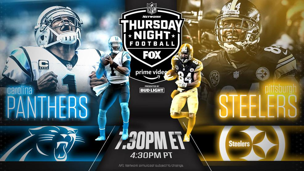 Image result for panthers vs steelers TNF
