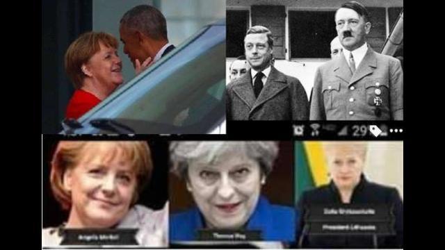 TAJNY AGENT HITLER : Dziadek Baraka Obamy ojciec Angeli Merkel syn ...