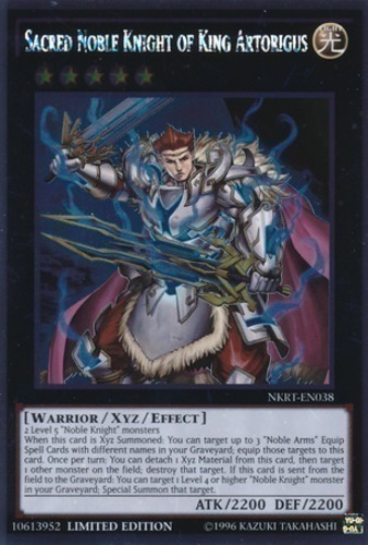 Sacred Noble Knight of King Artorigus : YuGiOh Card Prices