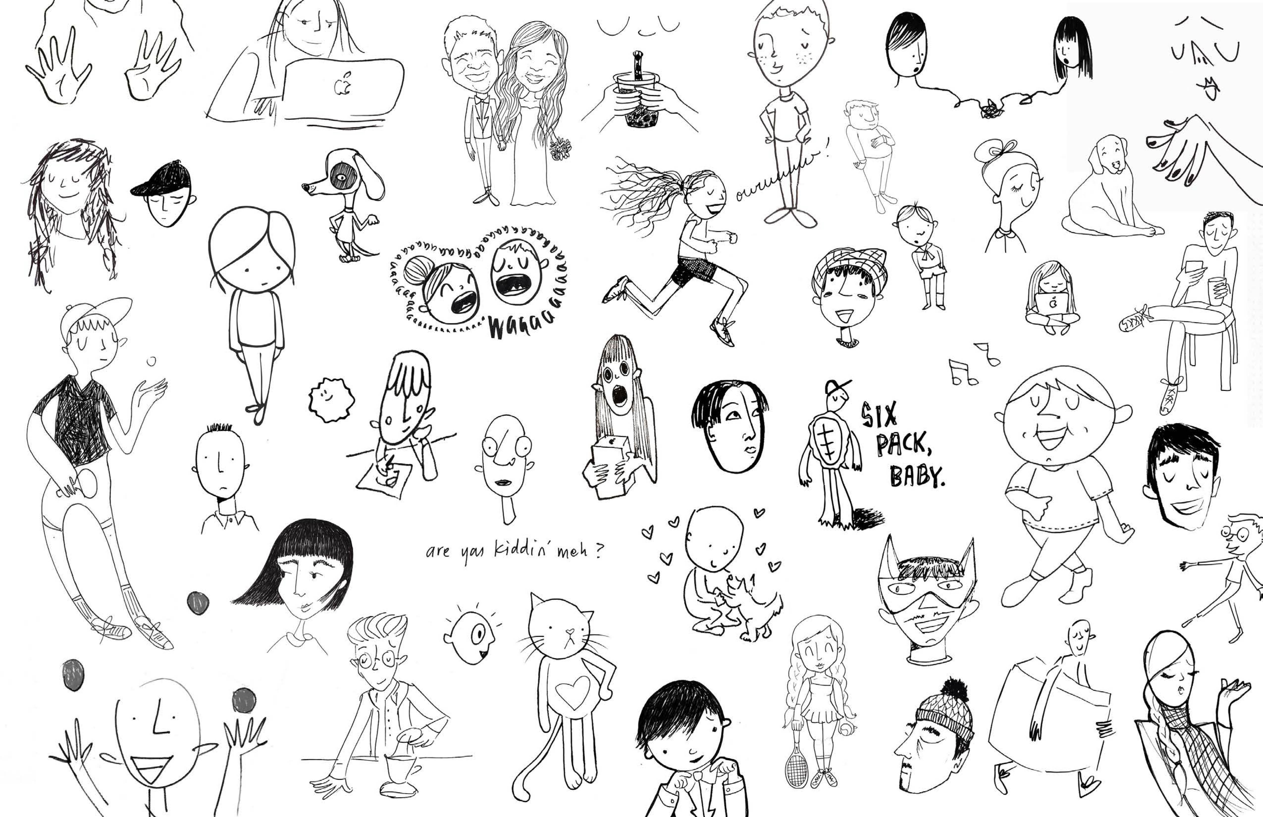 A Local Artist S Last 7 Years Of Doodling Daily Has