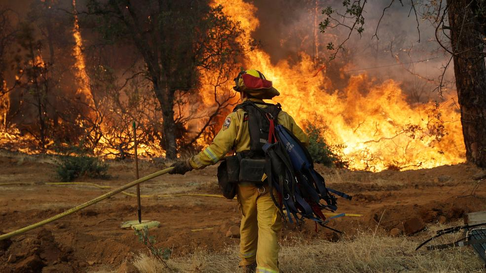 Image result for images of wildfire of Crr fire on July 28, 2018