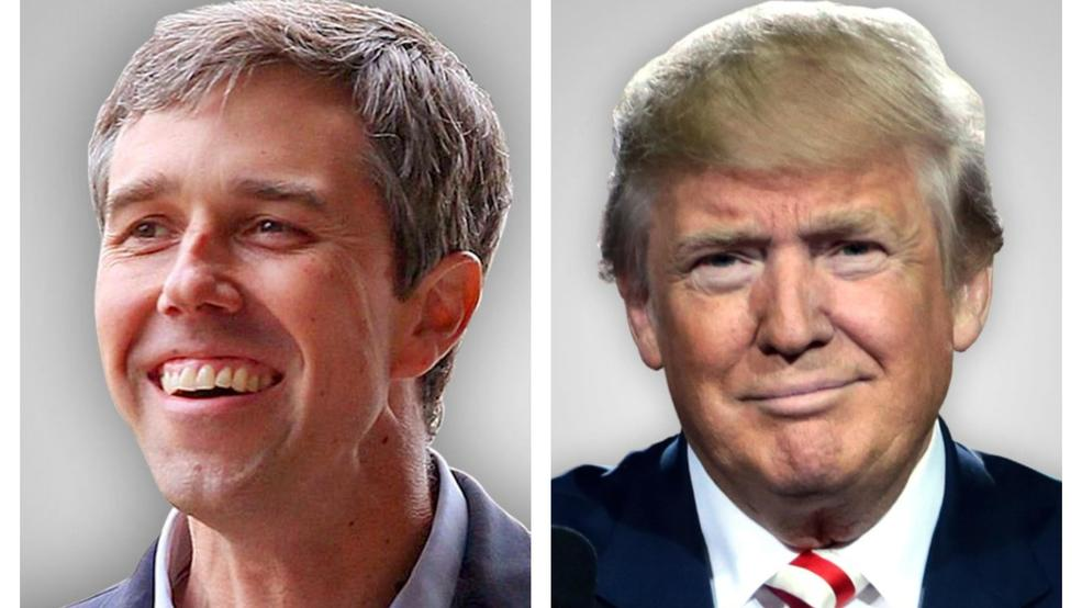 Image result for o'rourke trump