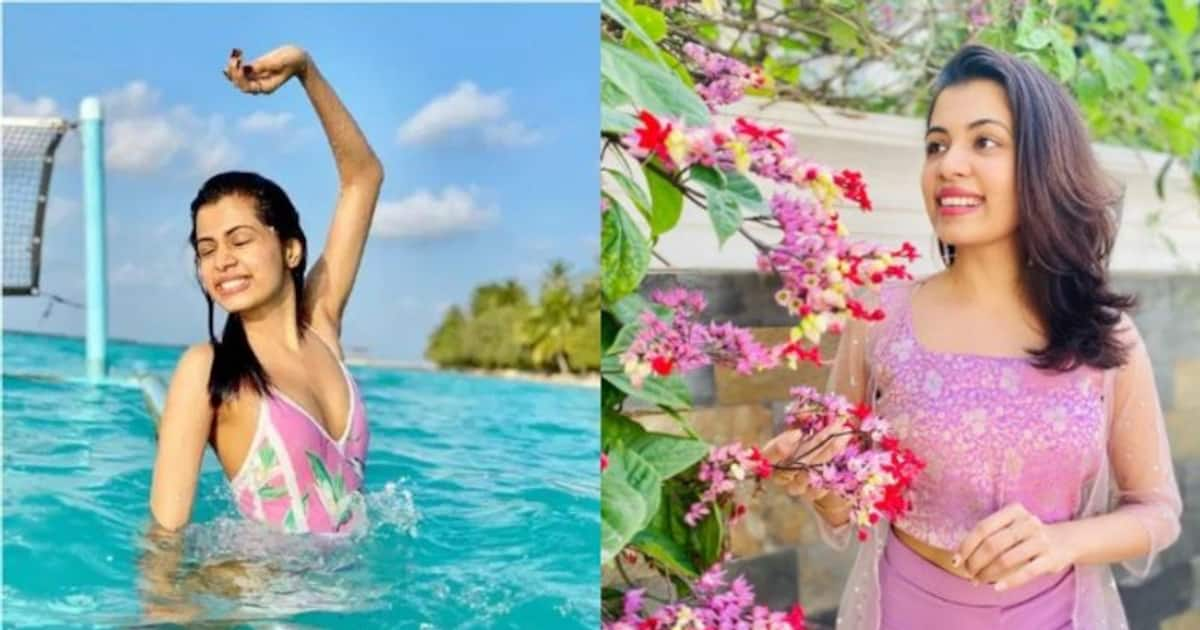 Bad comment for the picture in the swim suit;  Diya Krishna replied