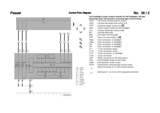 b5 passat headlight wiring diagram  1995 mazda 626 engine