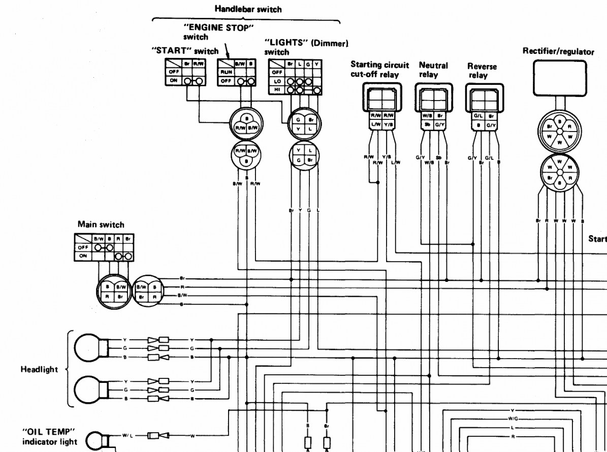 Wiring Diagram Yamaha Timberwolf
