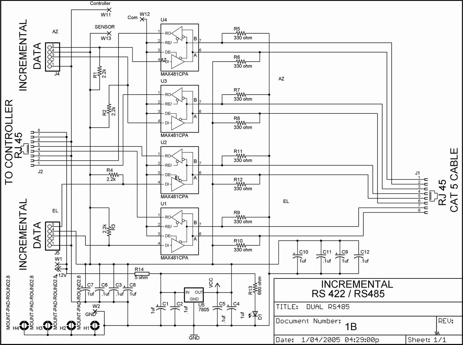 Sy Rs485 Db9 4 Wiring Diagram Free Diagram