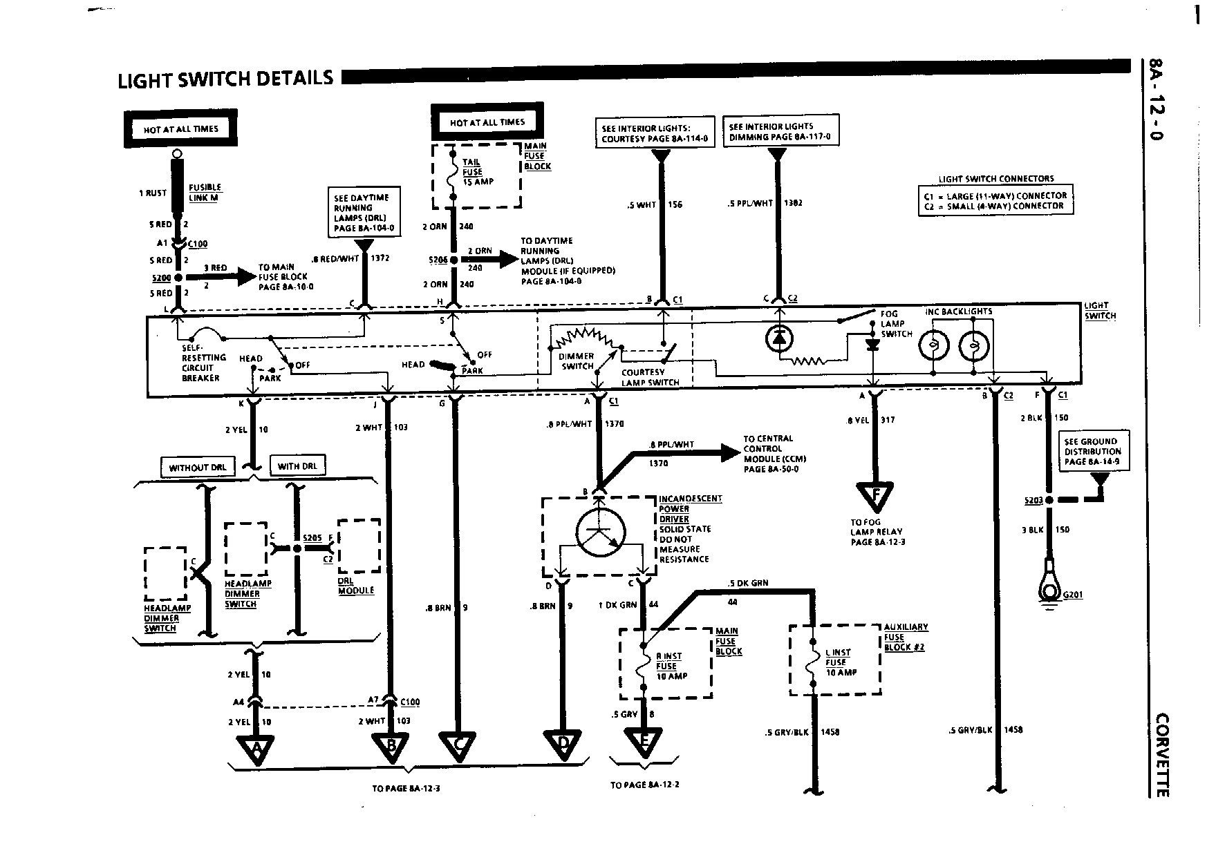 Corvette Wiring Diagrams Free