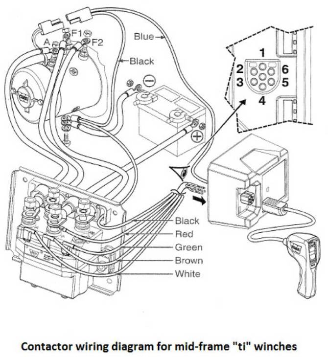 warn 1700 winch wiring diagram  electrical diagrams for