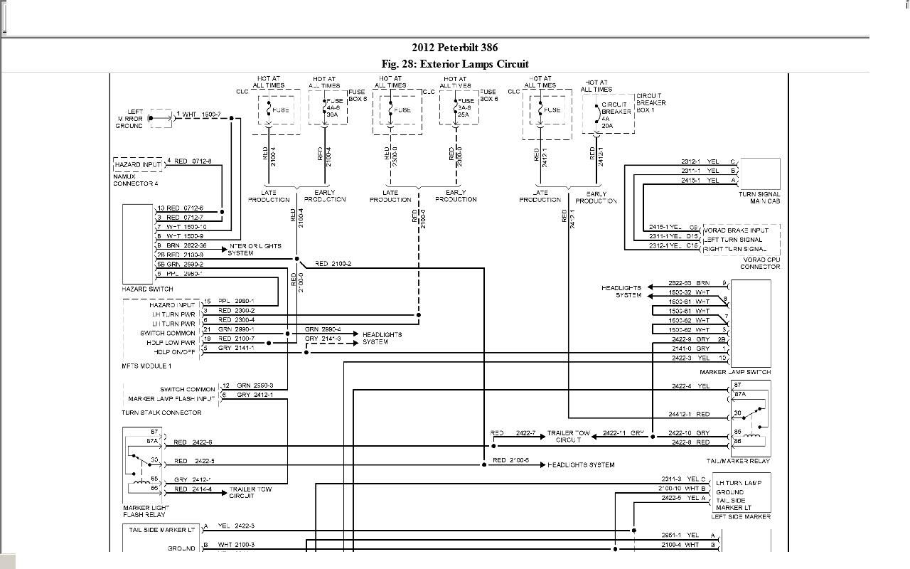 Diagram Peterbilt 357 Wiring Diagrams Full Version Hd