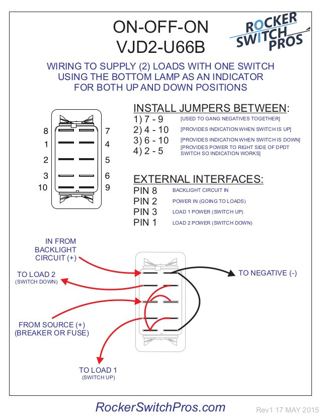 8 pin wiring diagram switch  schematic wiring diagram cycle