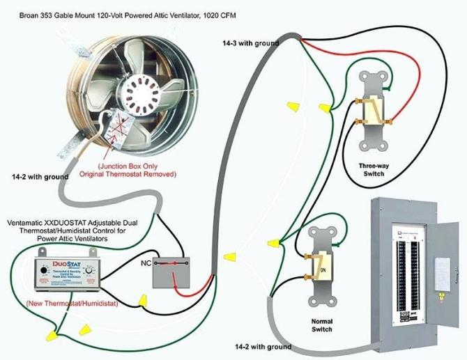 attic fan wiring diagram  hyundai excel 1999 wiring diagram
