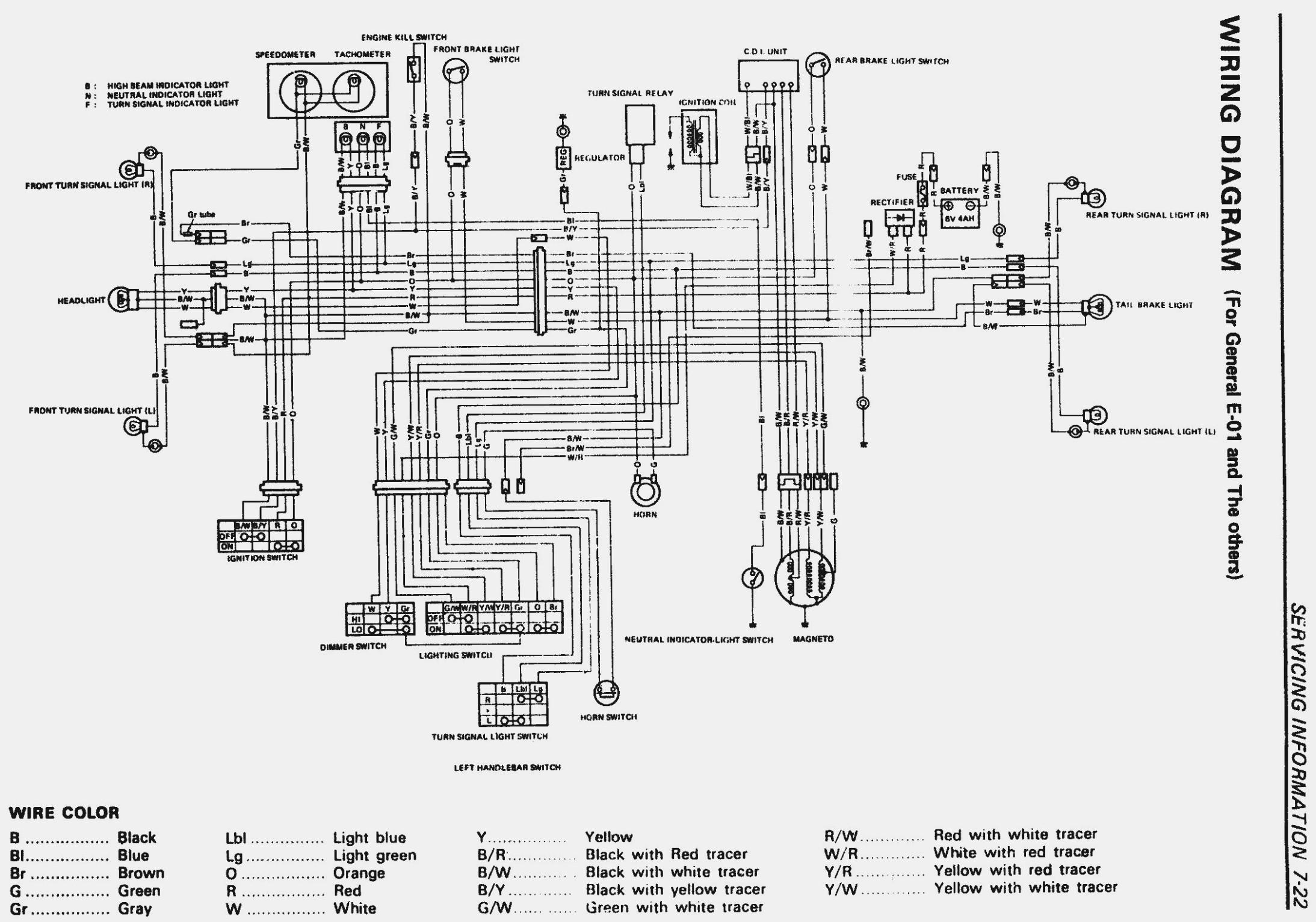 Suzuki King Quad 700 Wiring Schematic