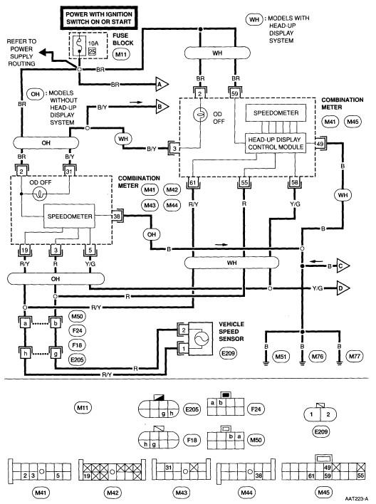 nissan murano wiring diagrams  1998 mercury tracer radio