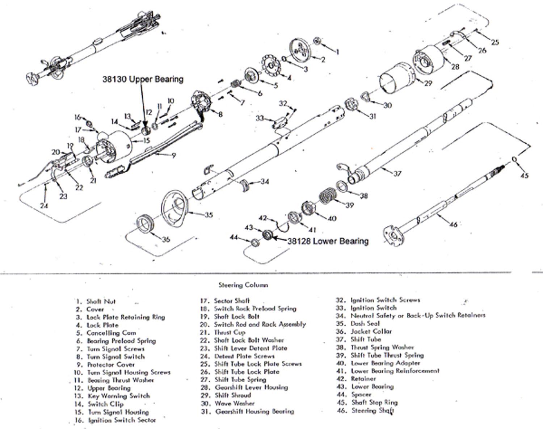 Ss Chevy Tilt Steering Column Diagram Wiring Diagram