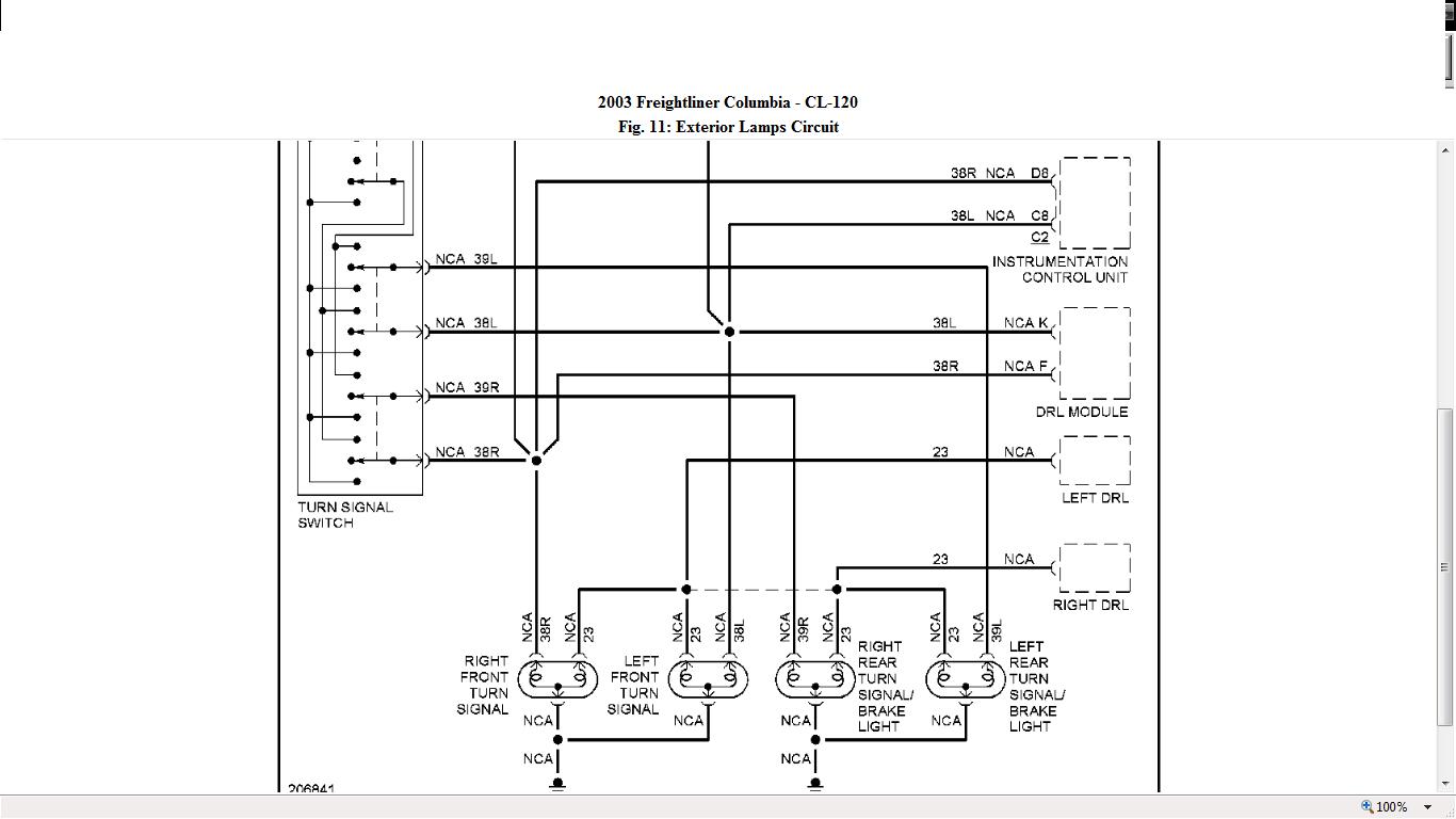 Freightliner Columbia Headlight Wiring Diagram