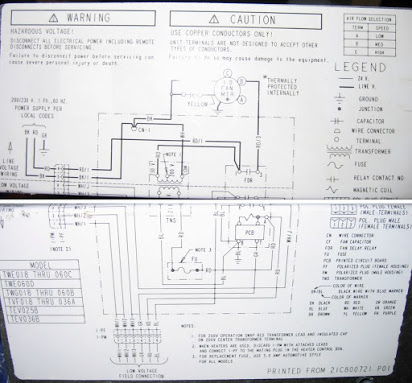 heil air handler wiring diagram goodman remote wire diagram