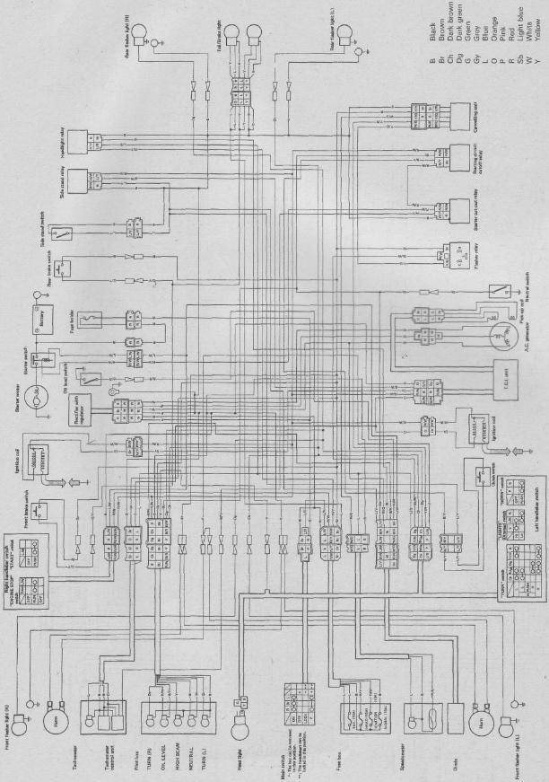 1987 1100 virago wiring diagram full hd quality version