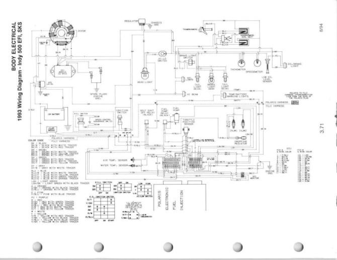 polaris outlaw 90 wiring diagram  circuit diagram