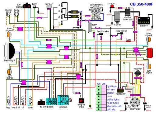 1973 honda cb350 wiring diagram  wiring diagram for mercury
