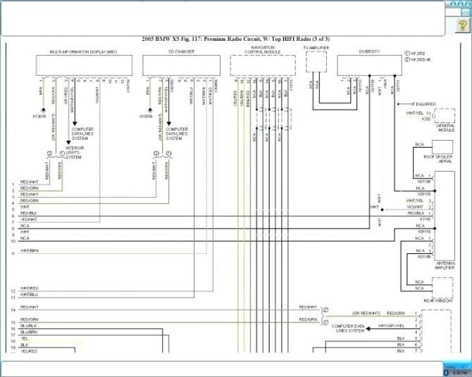 bmw x5 radio wiring diagram  home wiring diagrams way