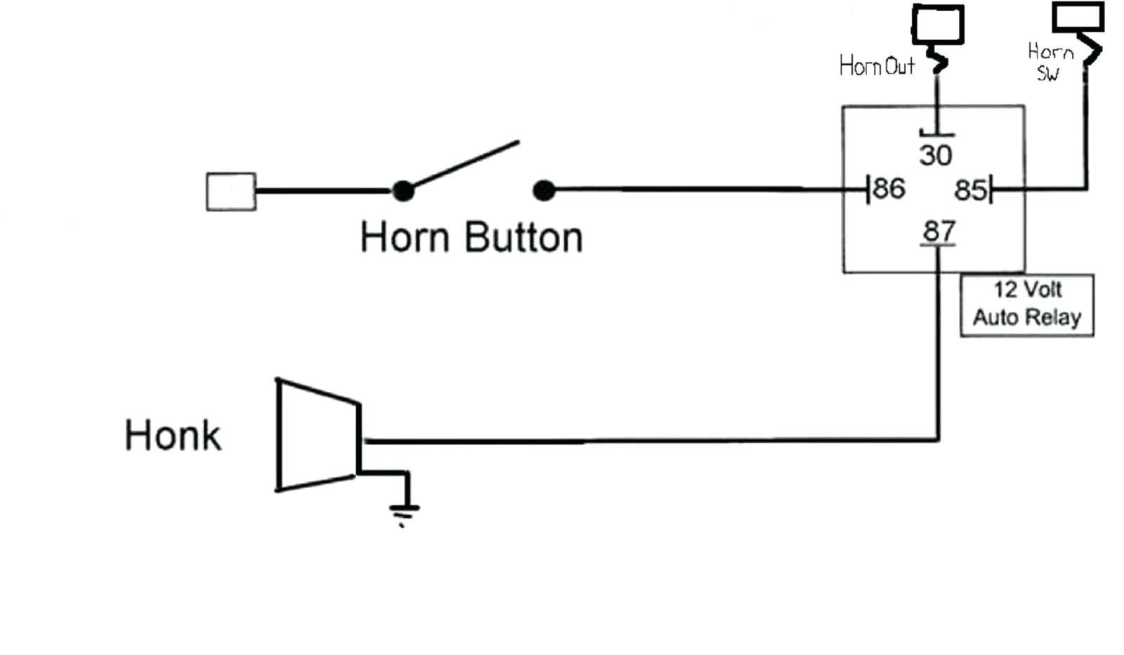 12v Horn Relay Wiring Diagram