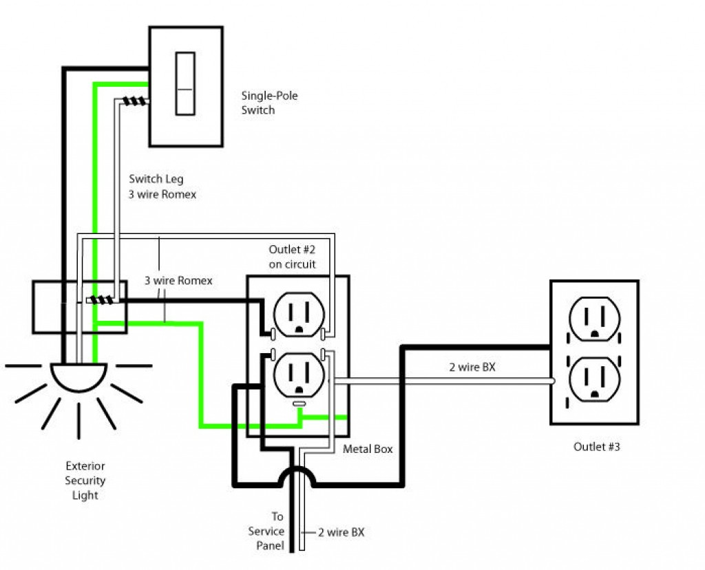 Residential Electrical Circuit Diagrams