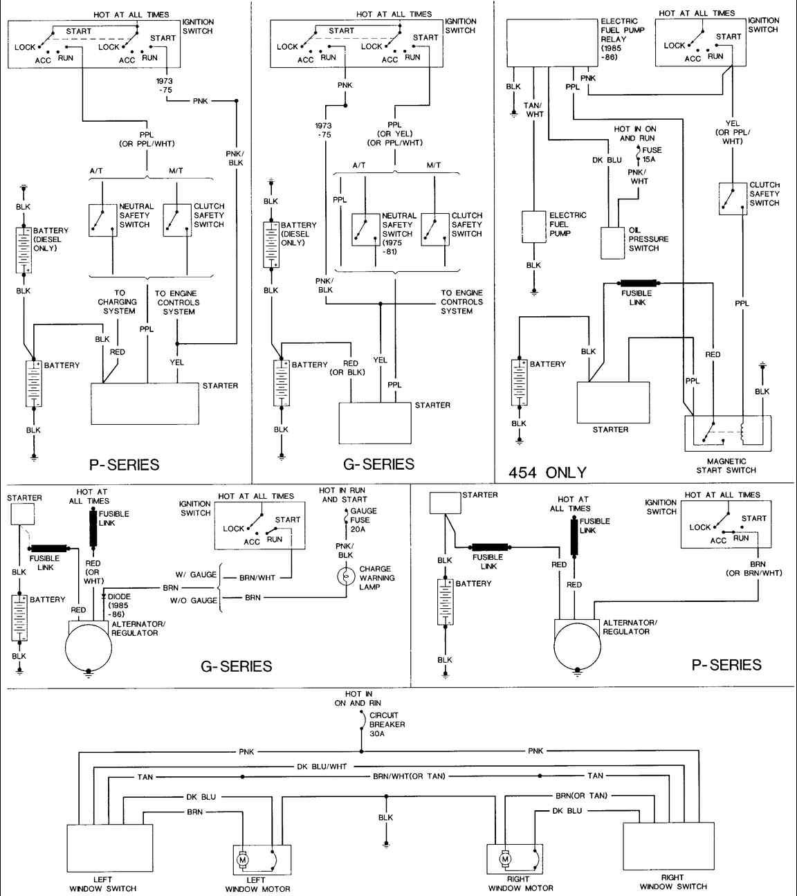 Corvette Horn Wiring Diagram