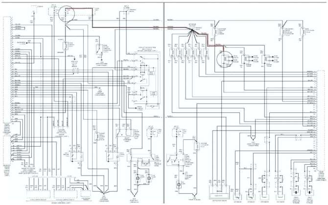 mercedes benz c320 wiring diagram  how to read automobile