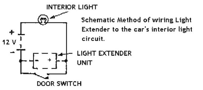 kg6318 car interior light extender circuit wiring diagrams