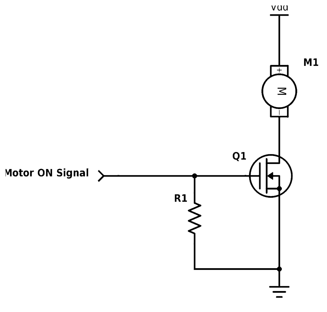 Motor Driver Using Mosfet