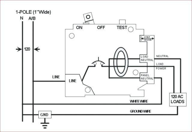 wiring diagram for gfi schematic 3 loudspeaker wiring