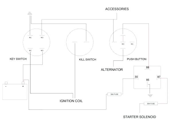 kohler ignition wiring diagram  92 toyota camry electrical