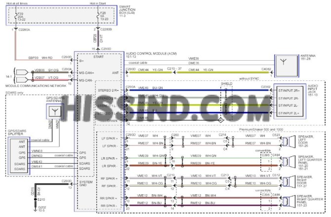 2013 ford mustang gt wiring diagram  wiring diagram wave