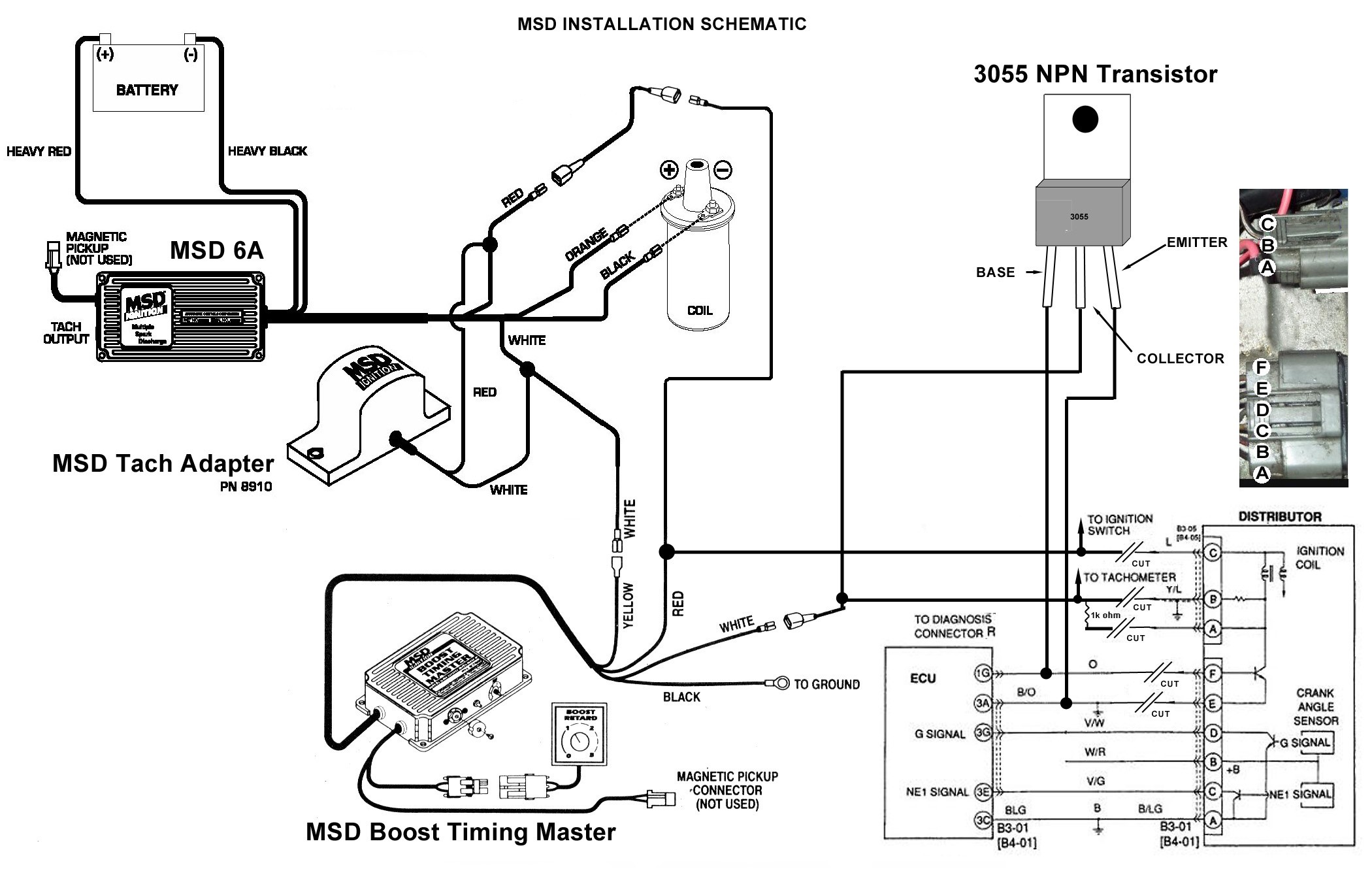 Ford Telstar Distributor Wiring Diagram