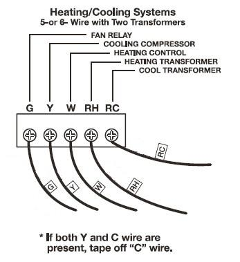 wiring diagram honeywell th9320wfv6007 wi fi  wilderness