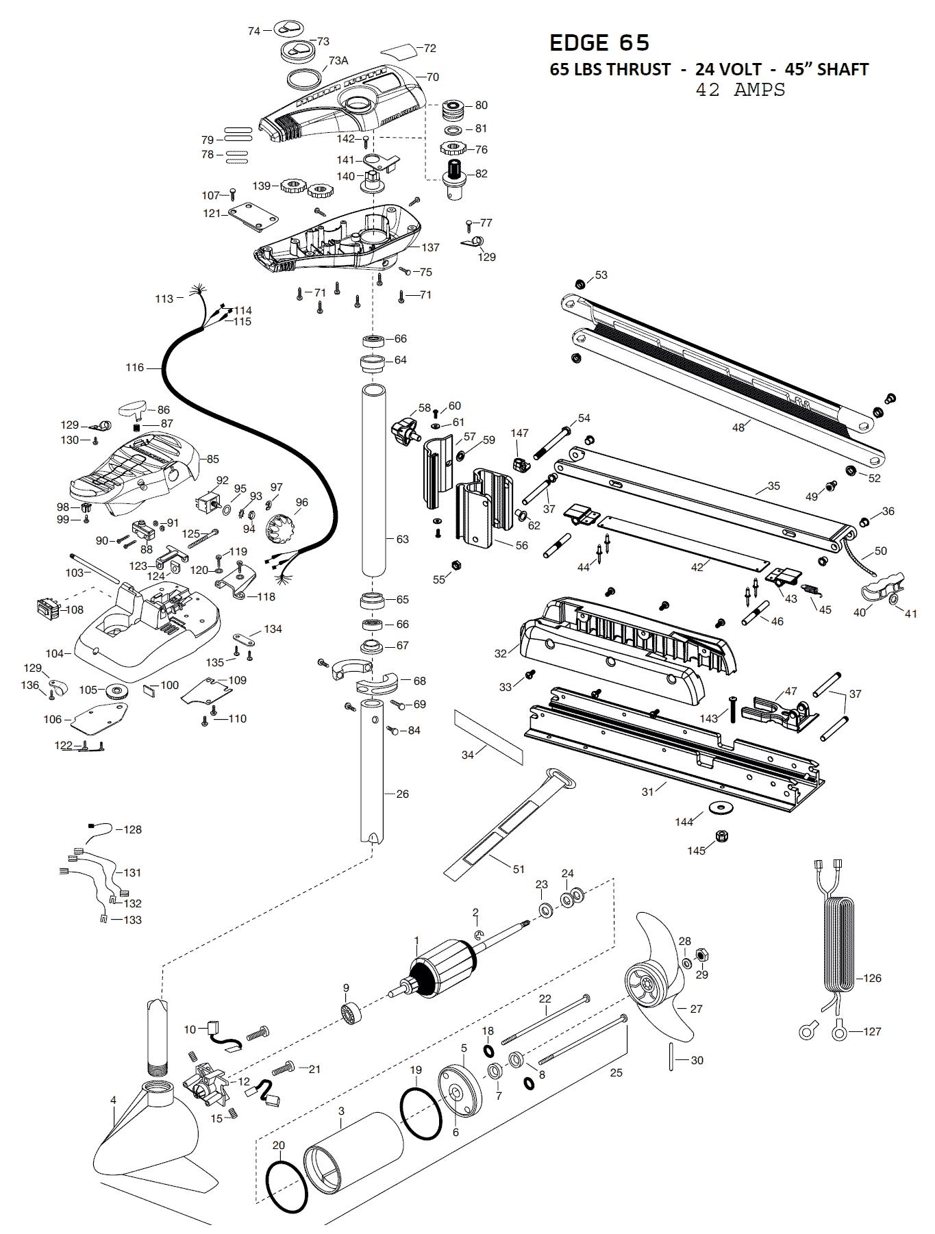 Minn Kota Terrova Parts List