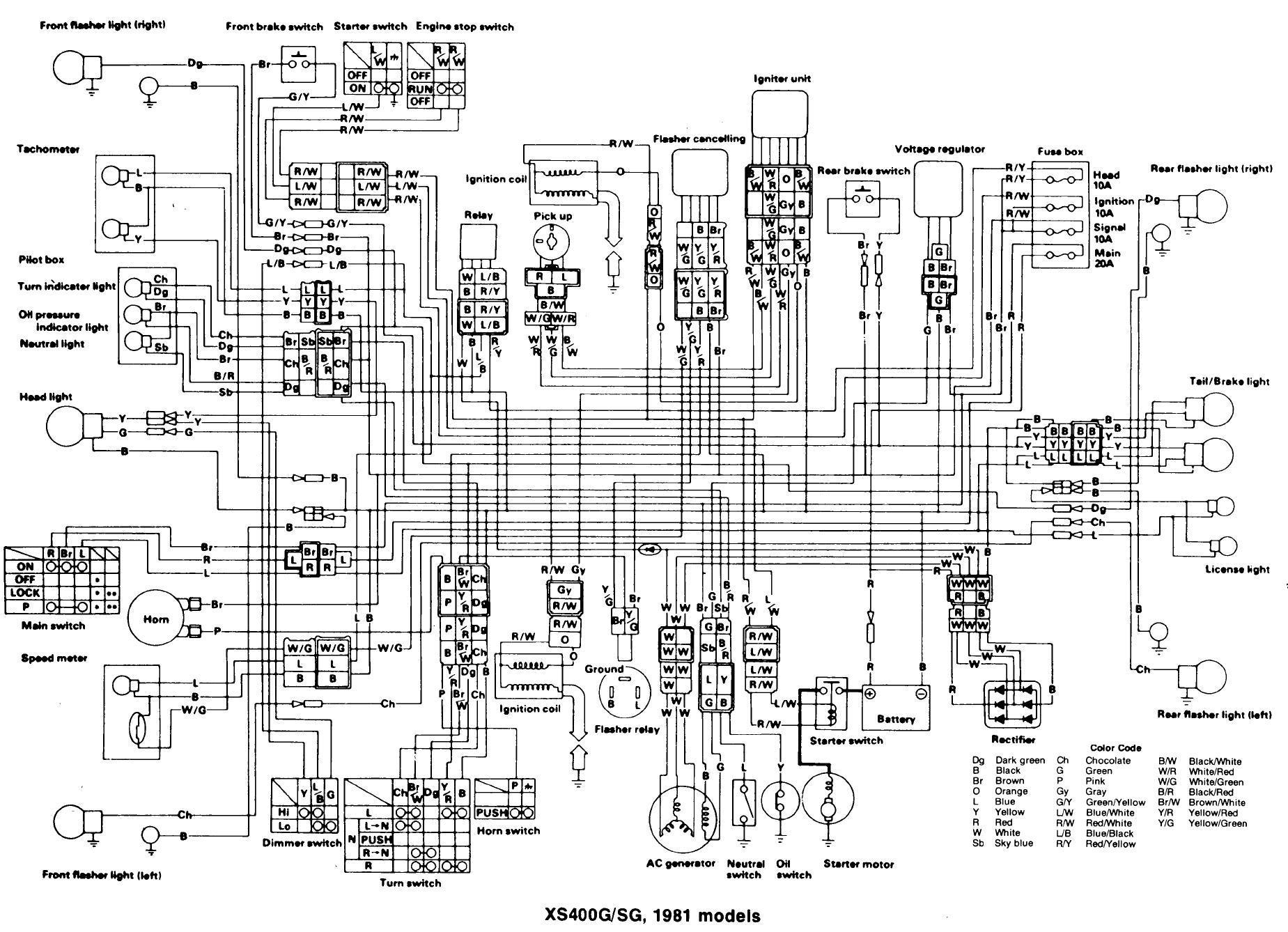 Kodiak 400 Wiring Diagram