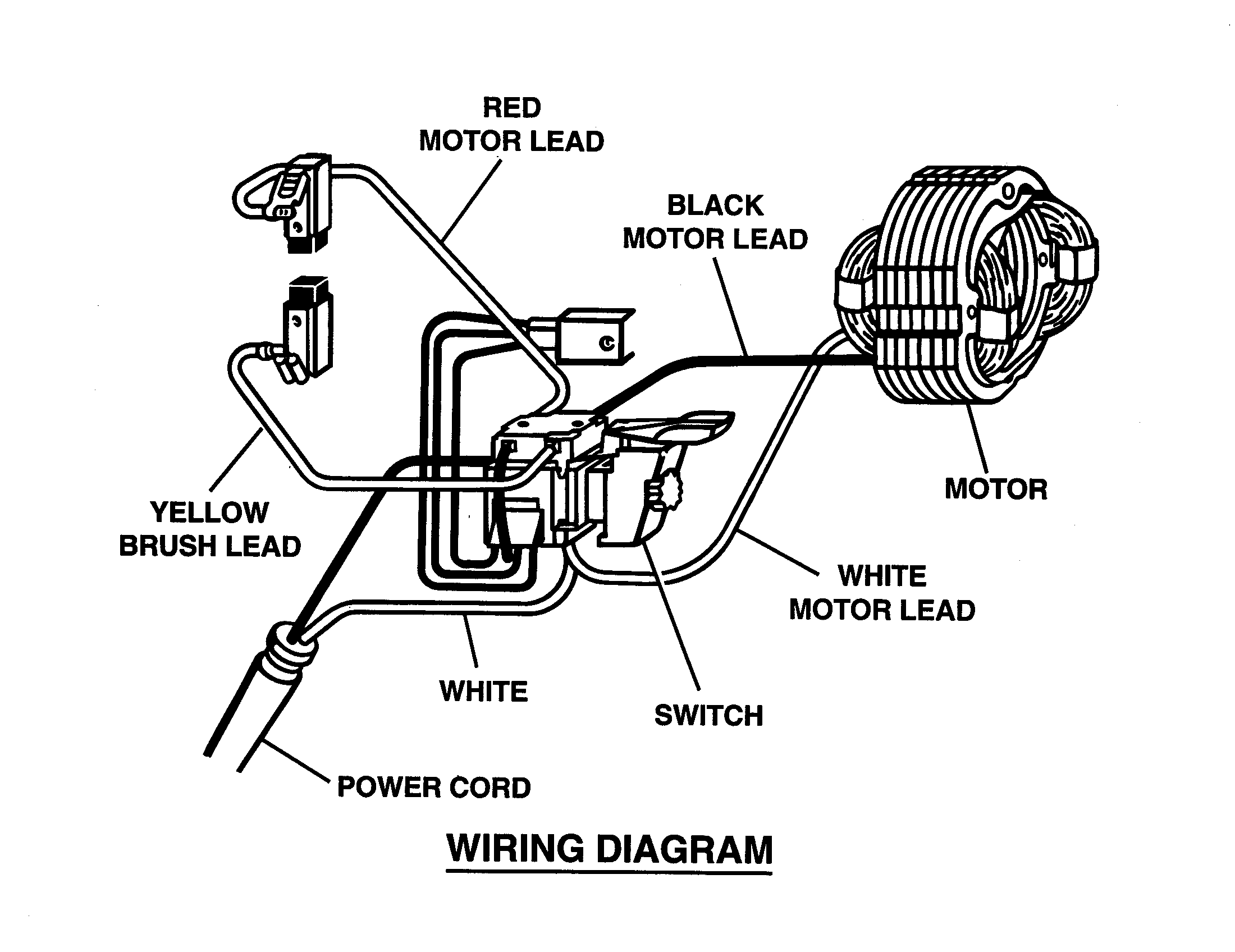 Milwaukee Electric Drill Wiring Diagram