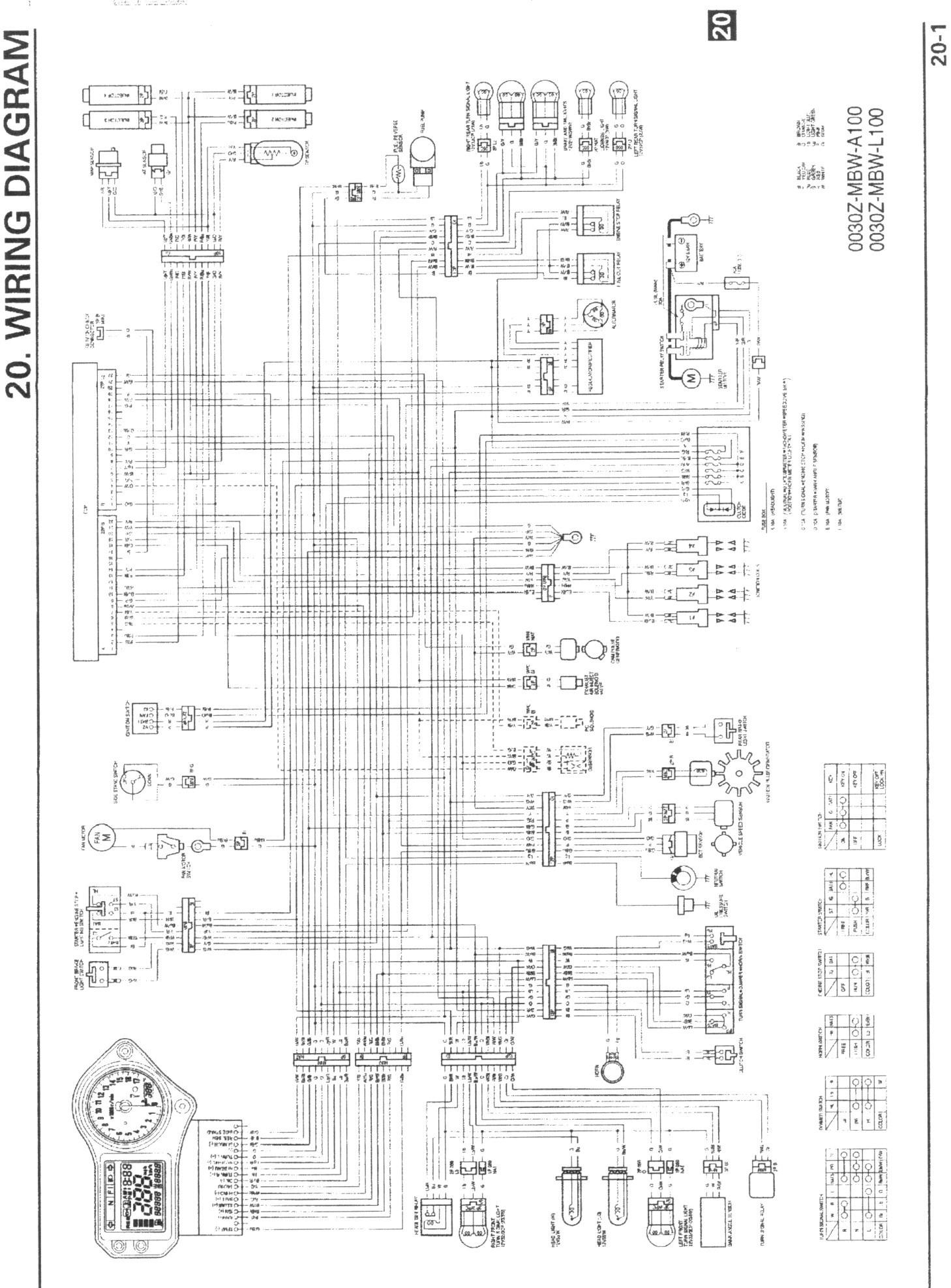 Cbr 600 F4i Headlight Wiring Diagram