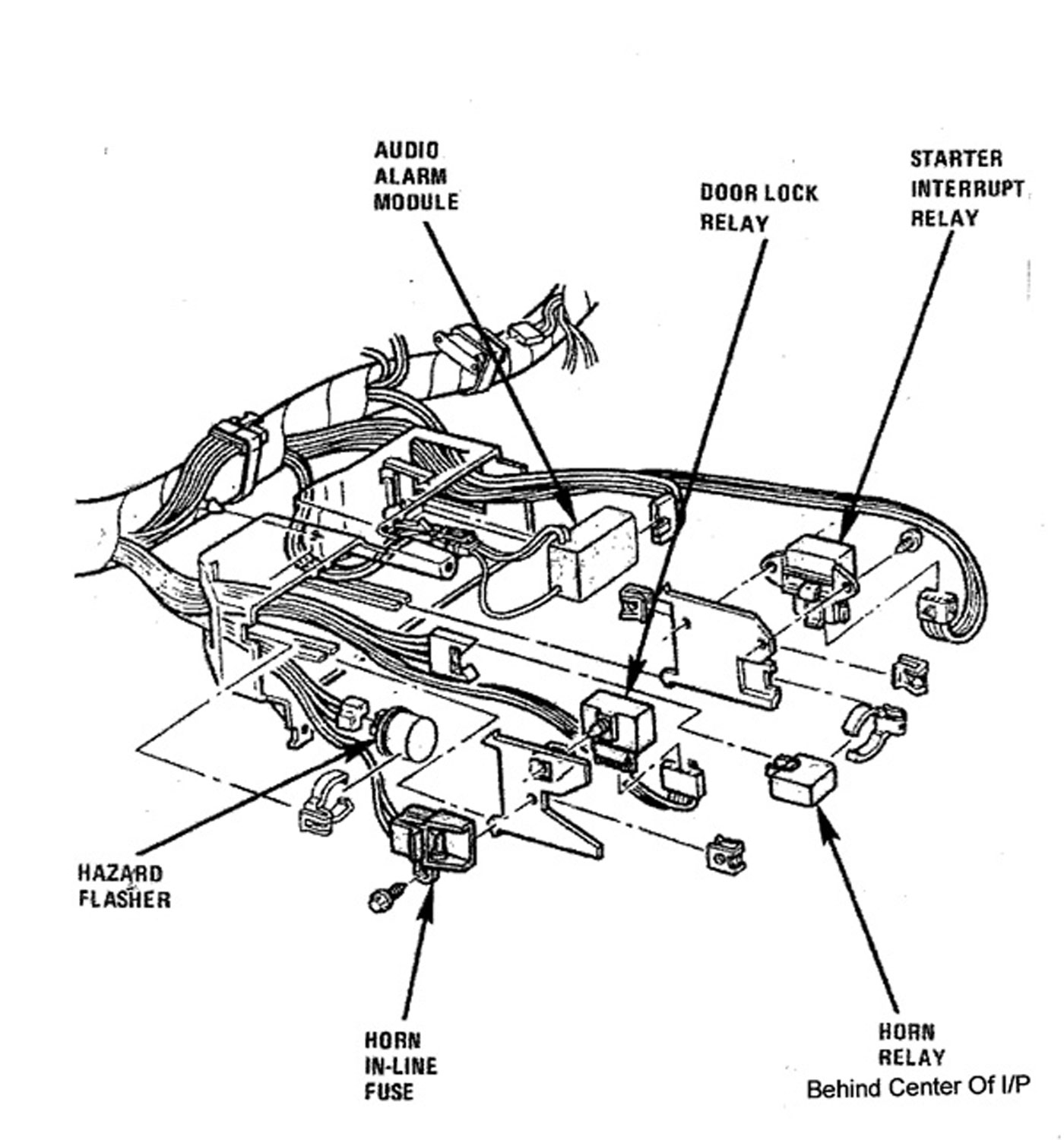 Sx Corvette Wiring Diagram For Starter Free