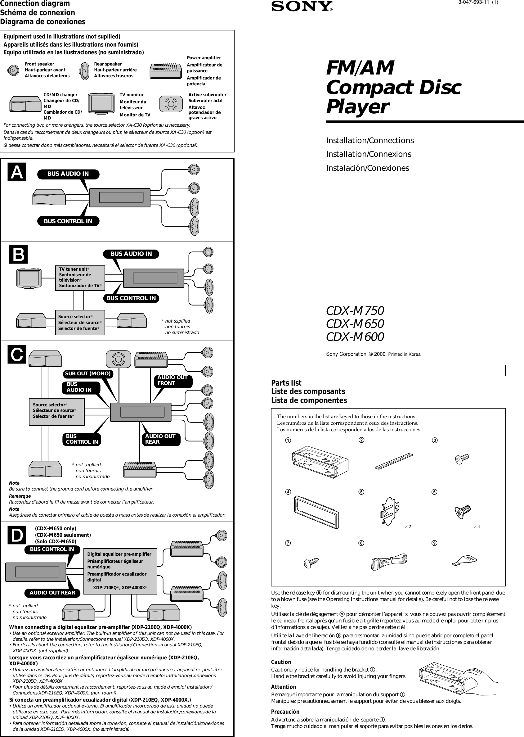 Sony Cdx Gt250mp Wiring Diagram