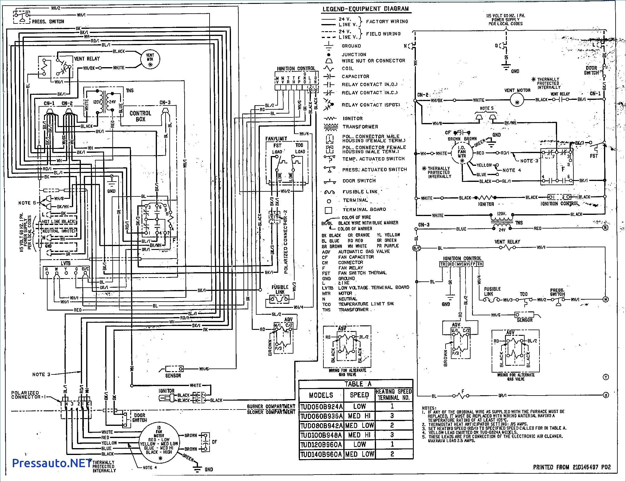 Trane Xe Heat Pump Wiring Diagram