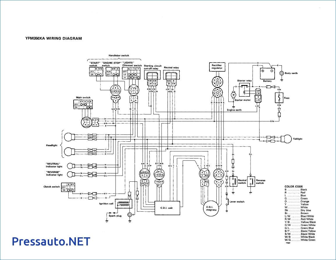Yamaha Raptor 350 Wiring Diagram