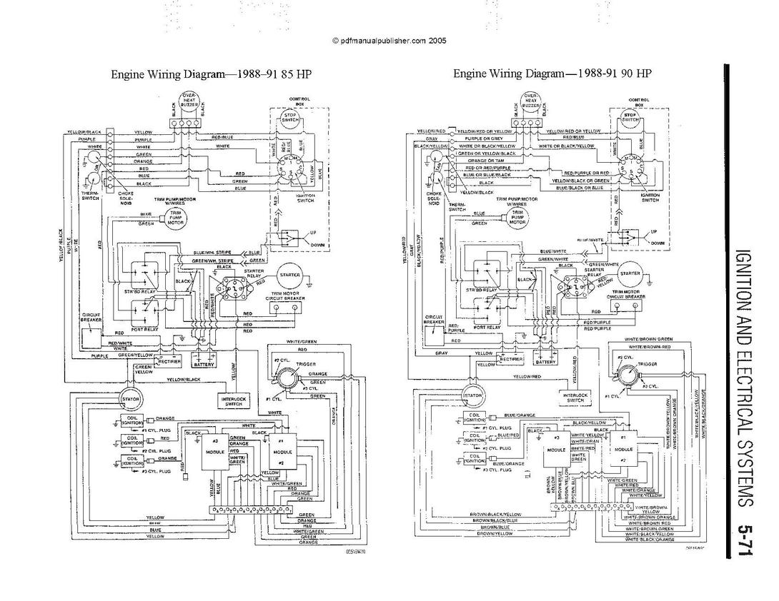 Mercury 50 Hp Wiring Diagram