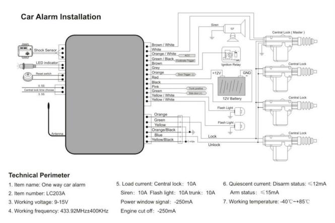 av2027 ungo alarm wiring diagram schematic wiring